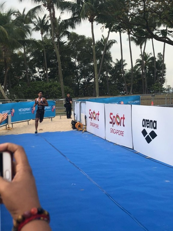 MetaSprint Aquathlon 2019 Singapore, Rahul Jegatheva - The