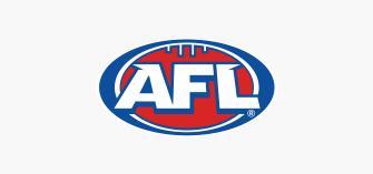 AFL Logo on a grey background