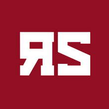 Red scare logo inv red
