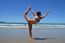 Mangawhai dancer pose