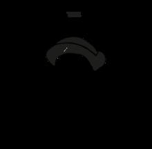 Salt and wood logo circle