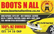 Boots n all wall sign 2017 this one for cards