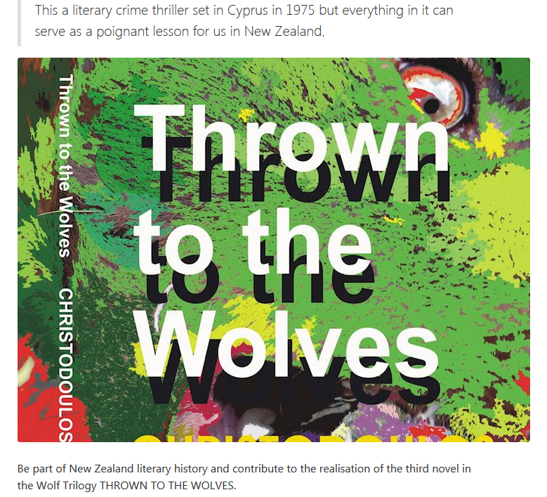 Early Bird Copy Of Thrown To The Wolves
