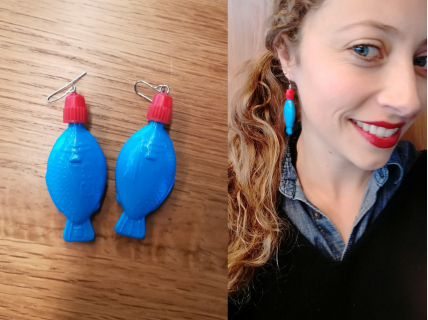 Save The Fishies Earrings