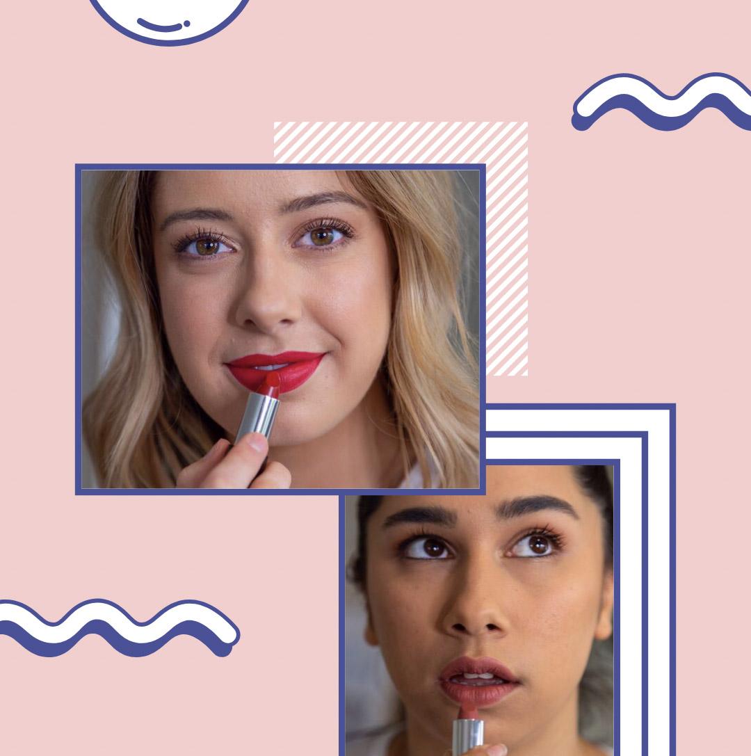 2 Lipsticks (you Choose Shade)