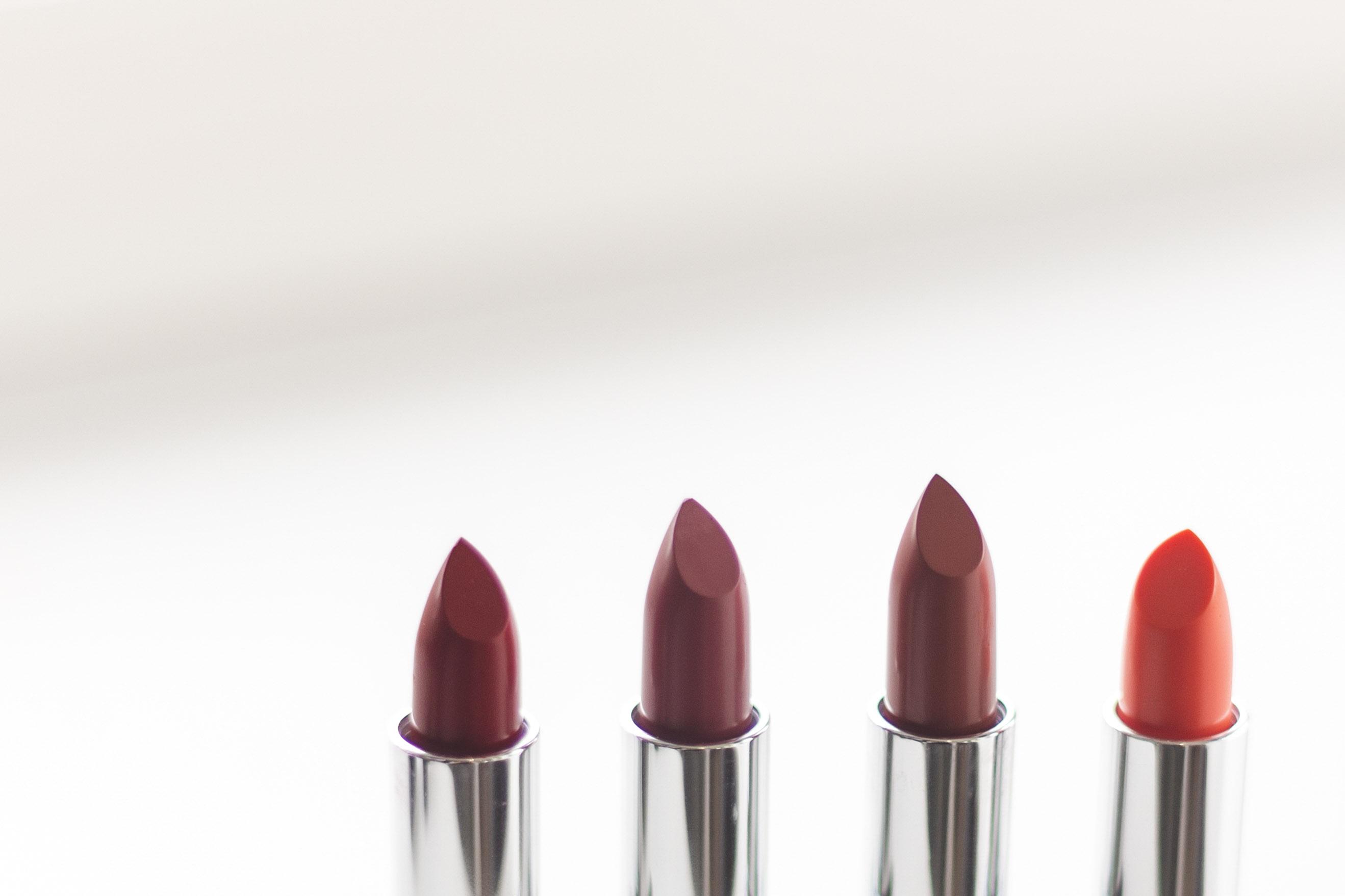 4 Lipsticks, Baby! (all Four Shades)