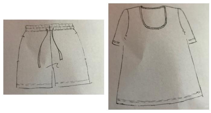 Shorts & T-Shirt Combo
