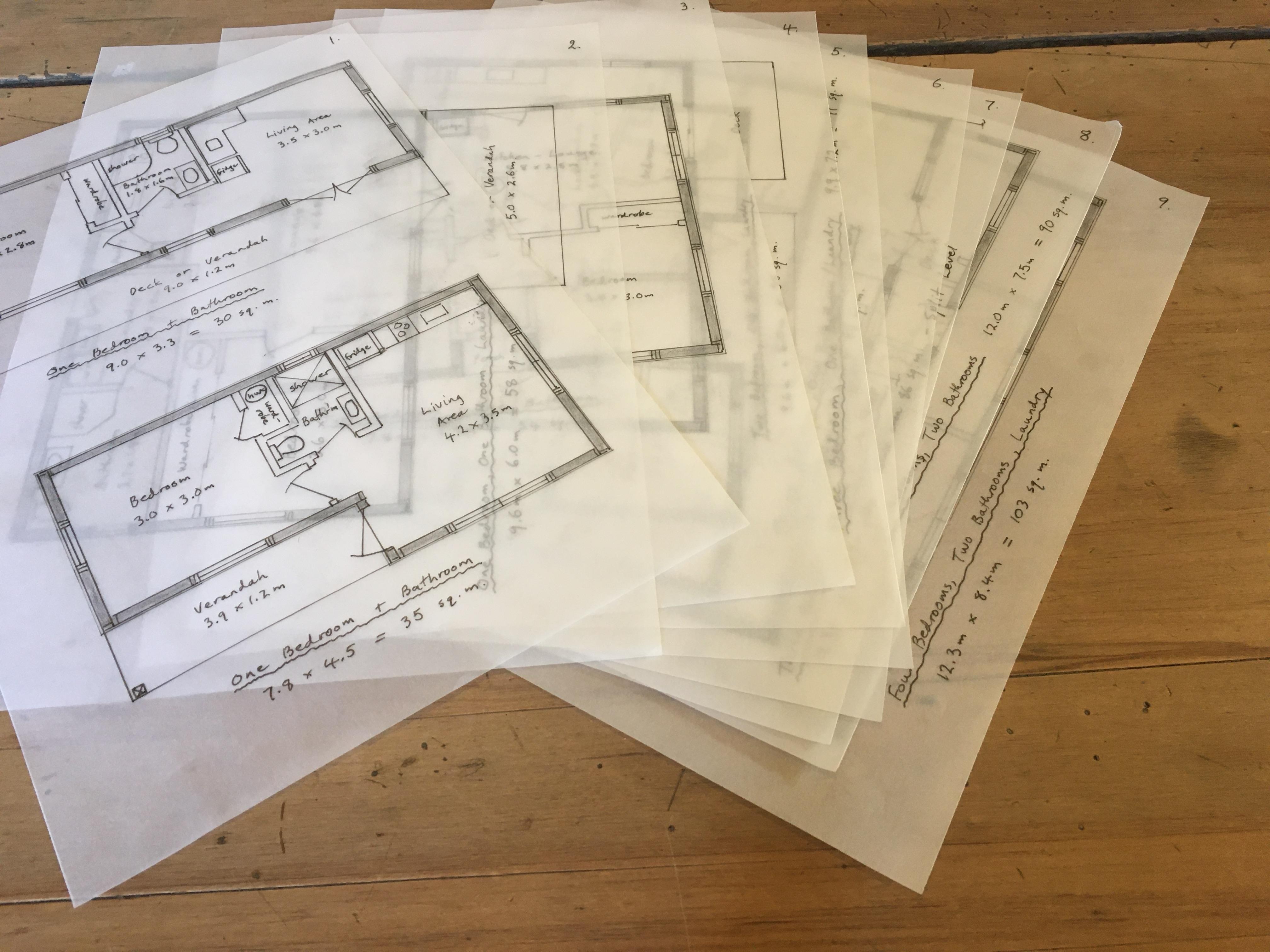 Folio Of Designer Floor Plans