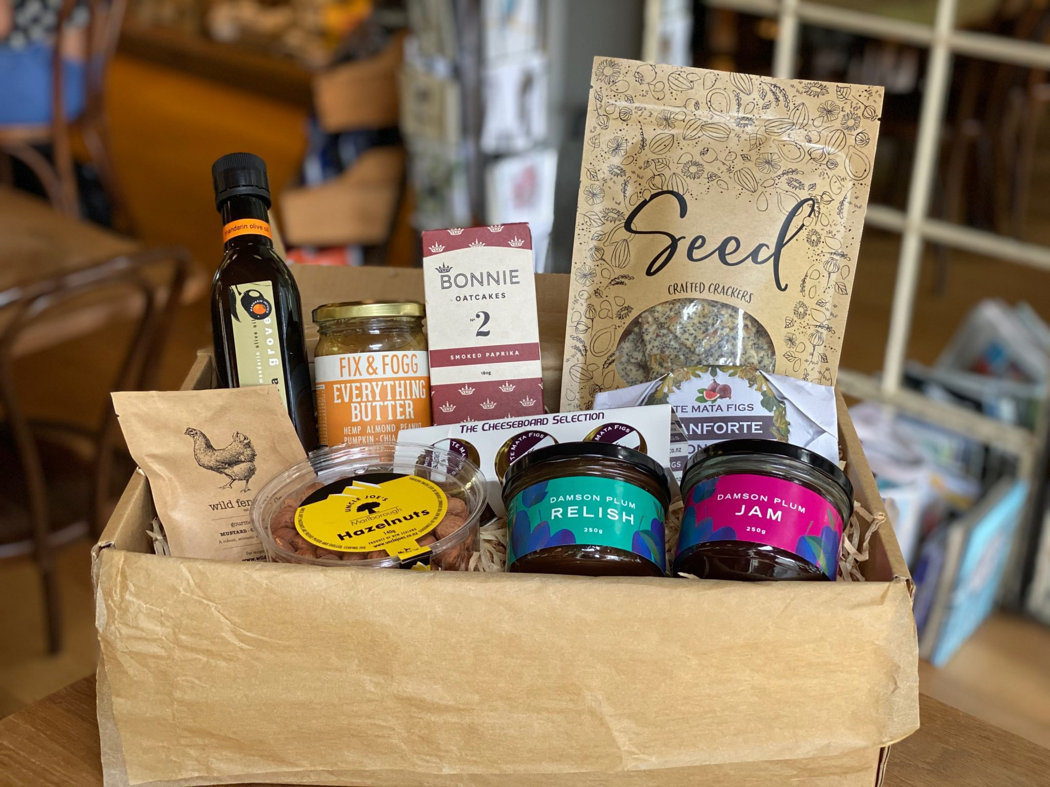 Local And Artisanal Food And Hamper
