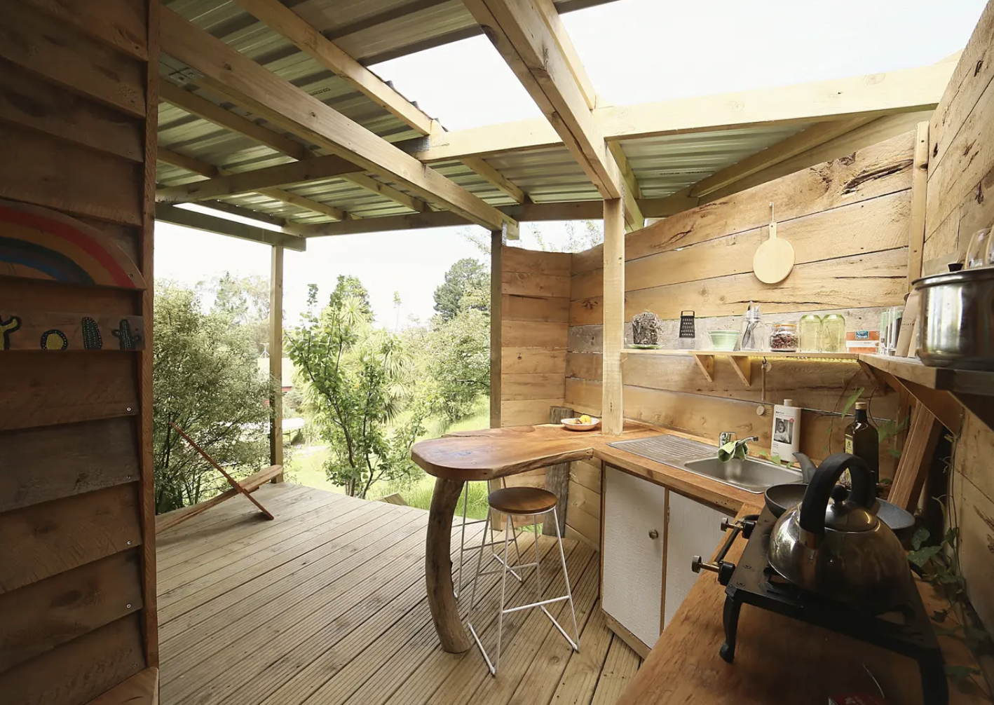 Raffle: 1 Night For Two At Raglan Tiny House Glamping Getaway
