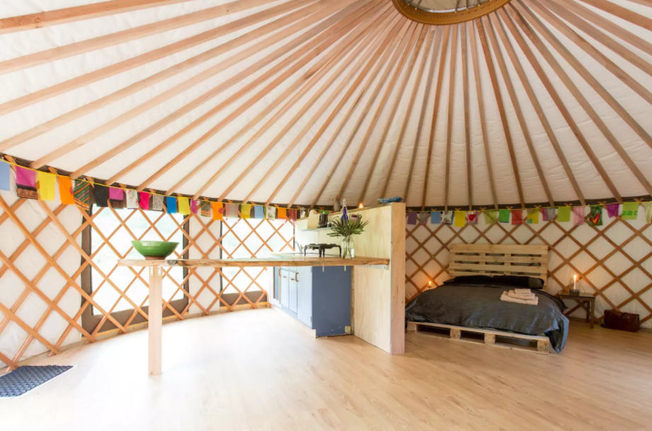 Raffle: 1 Night For Two At Raglan Yurt Glamping Getaway