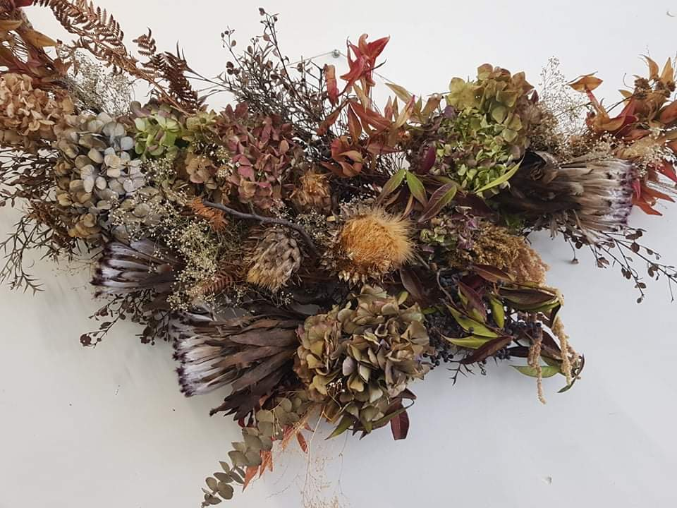 $100 Dried Flower Wall Hanging By Jilly Bud