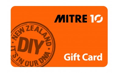 $100 Mitre 10 Gift Card (donated By Landmark Homes)