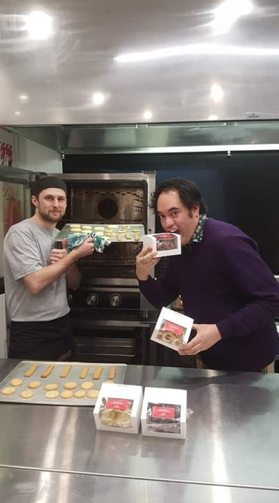 Shaun Kay, Palmys Arts Ambassador Catering Baking Pack.