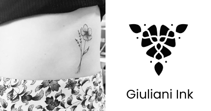 Tattoo Voucher With Giuliani Ink