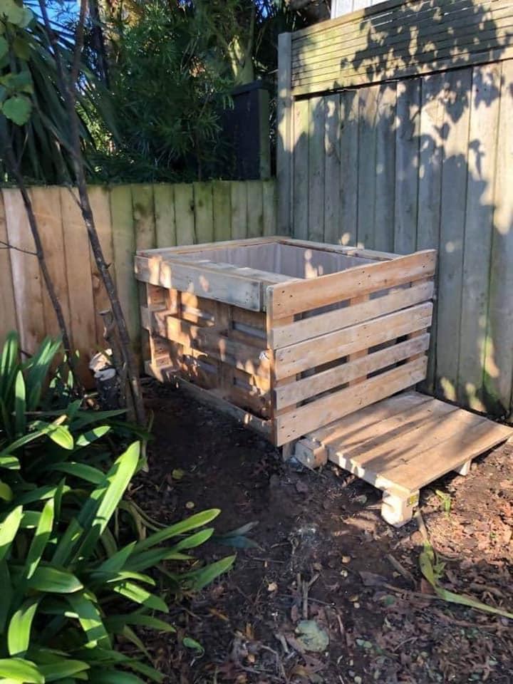 Name On Community Compost Bin