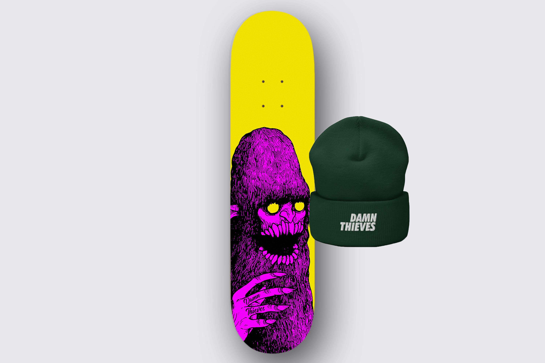 Board + Beanie