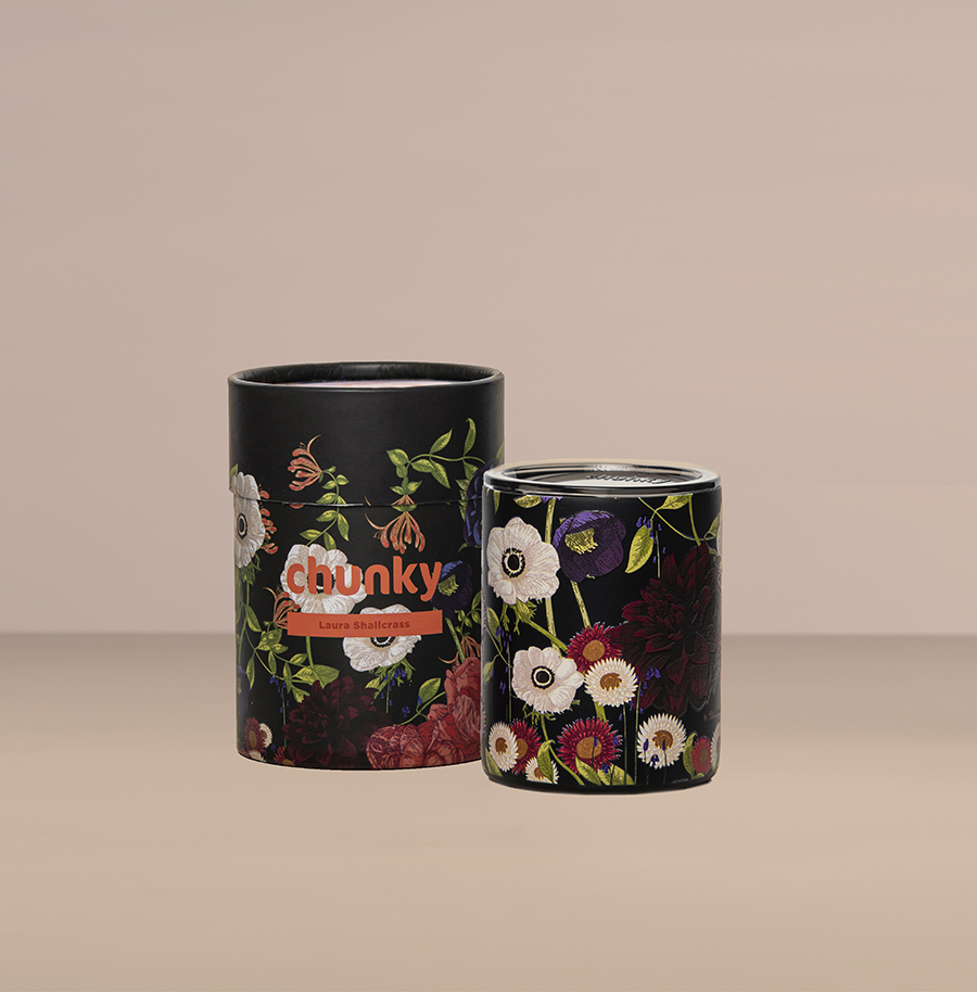 Bloom 10oz (296ml) Coffee Cup By Laura Shallcrass