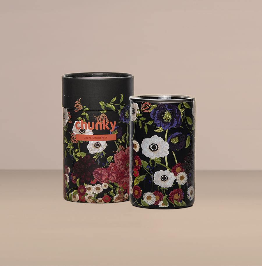 Bloom 14oz (414ml) Coffee Cup By Laura Shallcrass