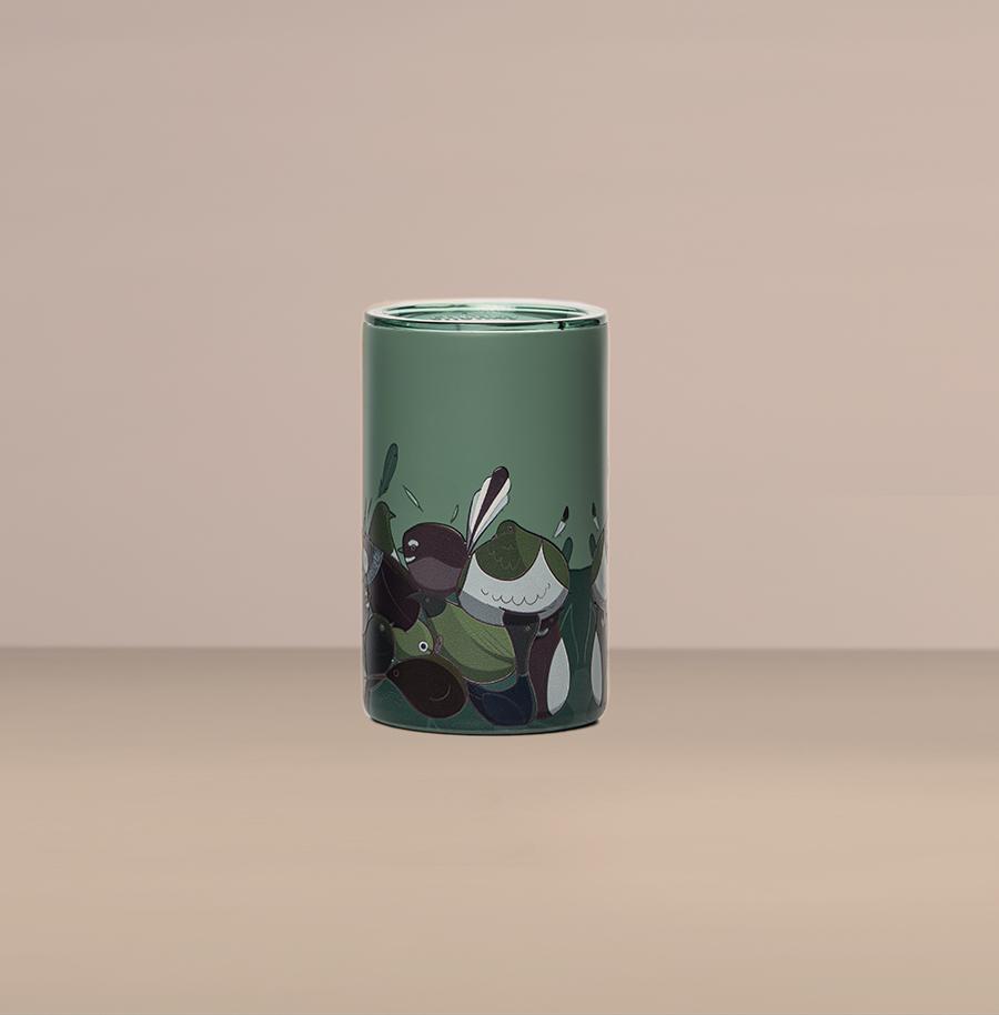 Birbs Of NZ 14oz (414ml) Coffee Cup By Malangeo