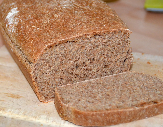 Brian Will Bake You A Spelt Flour Loaf Of Bread