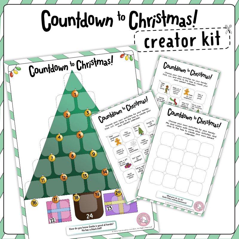 Countdown To Christmas Creator Kit
