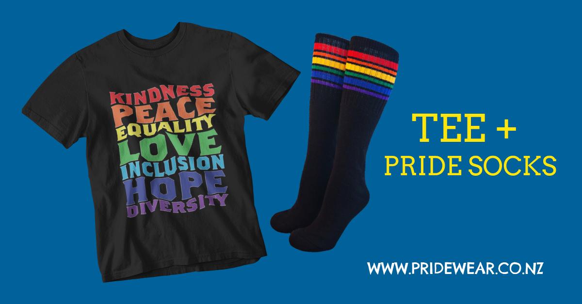 TShirt & Pride Socks