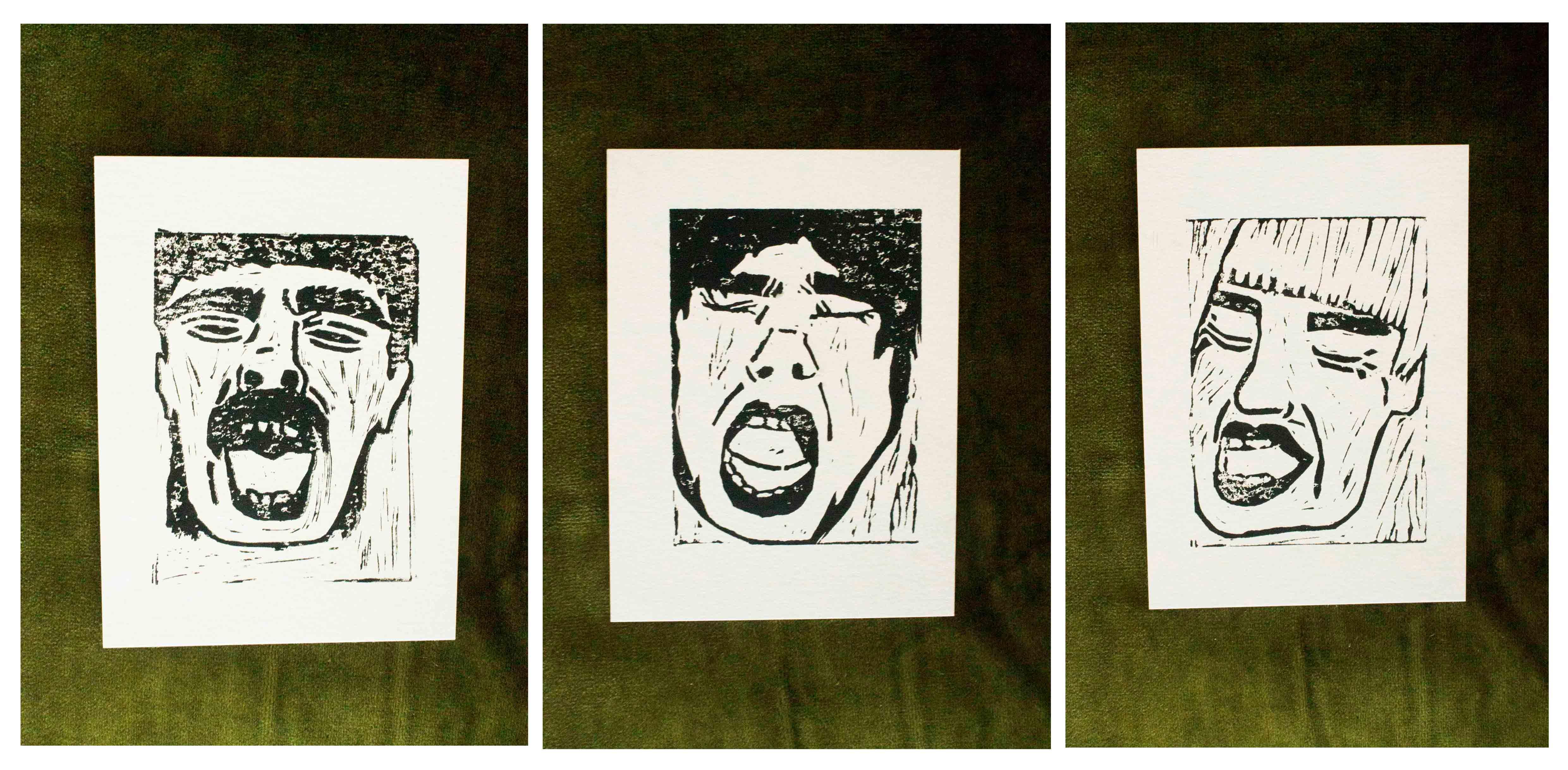 Yawn Print