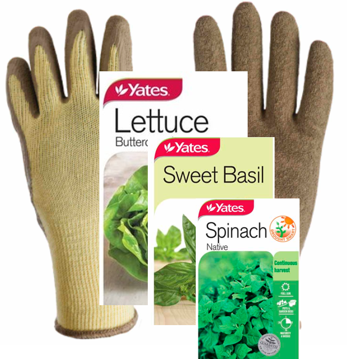 Gardening Pack - Gloves And Seeds