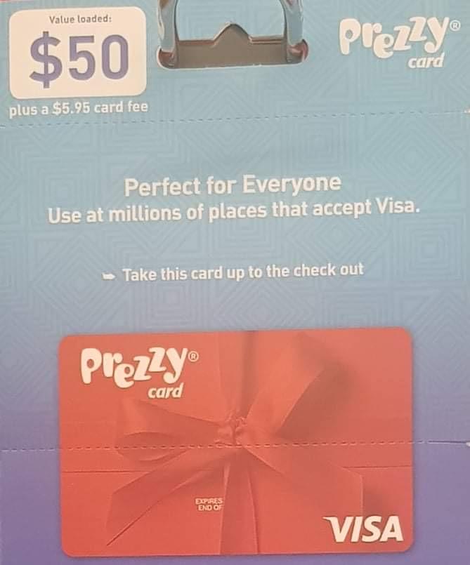 $50 Prezzy Card