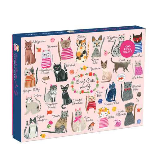 Cool Cats 1000 Piece Puzzle!