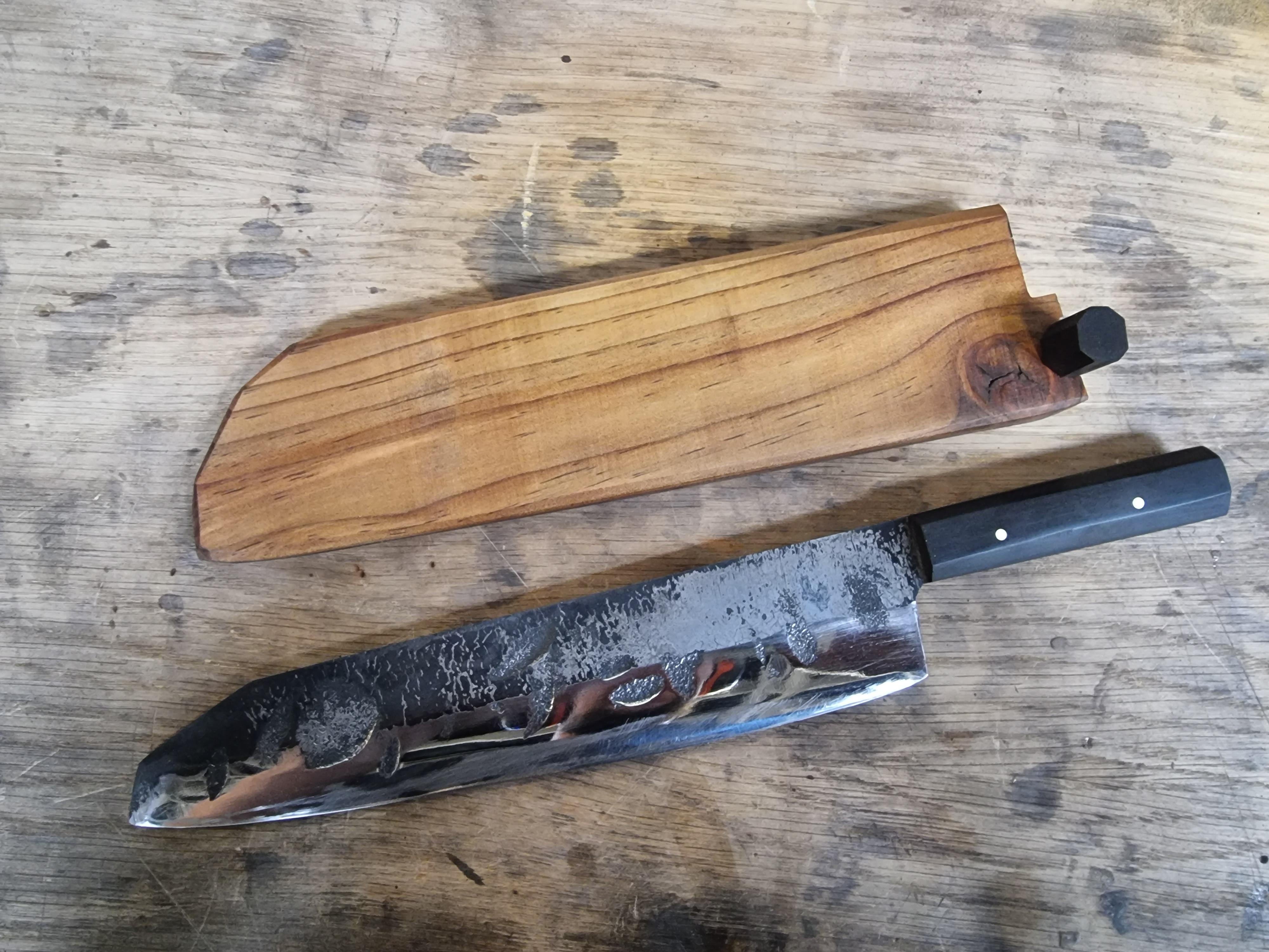 Single Steel Chefs Knife