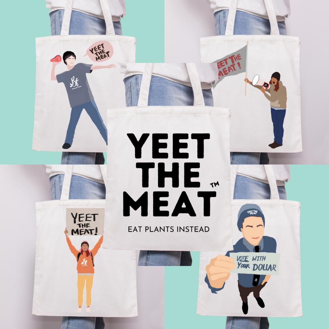 YTM Tote Bag & Stickers