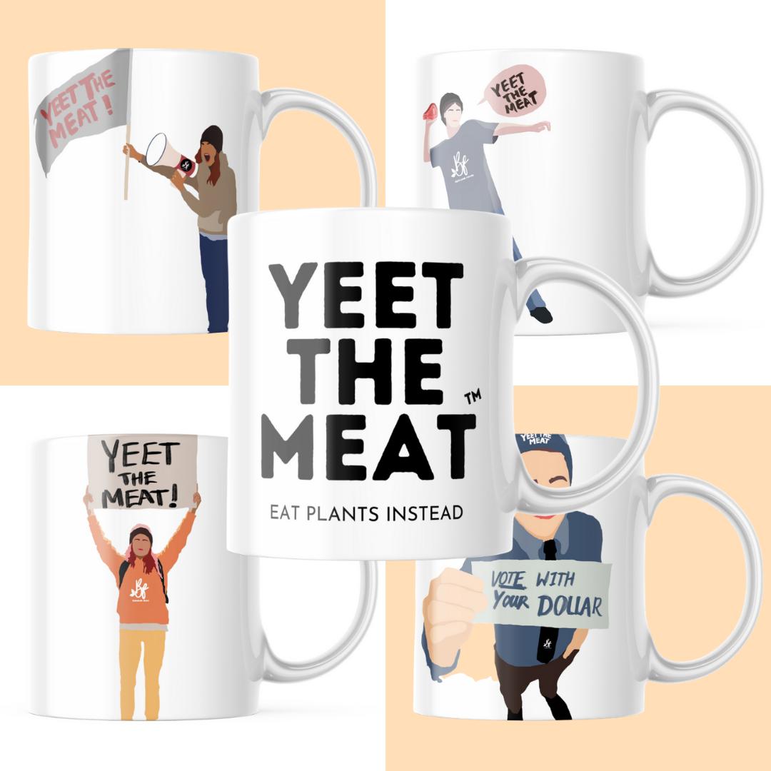 YTM Coffee Mug And Stickers