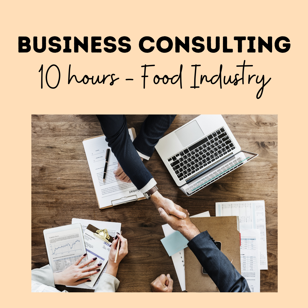 Business Consulting 10 Hours - Food Industry