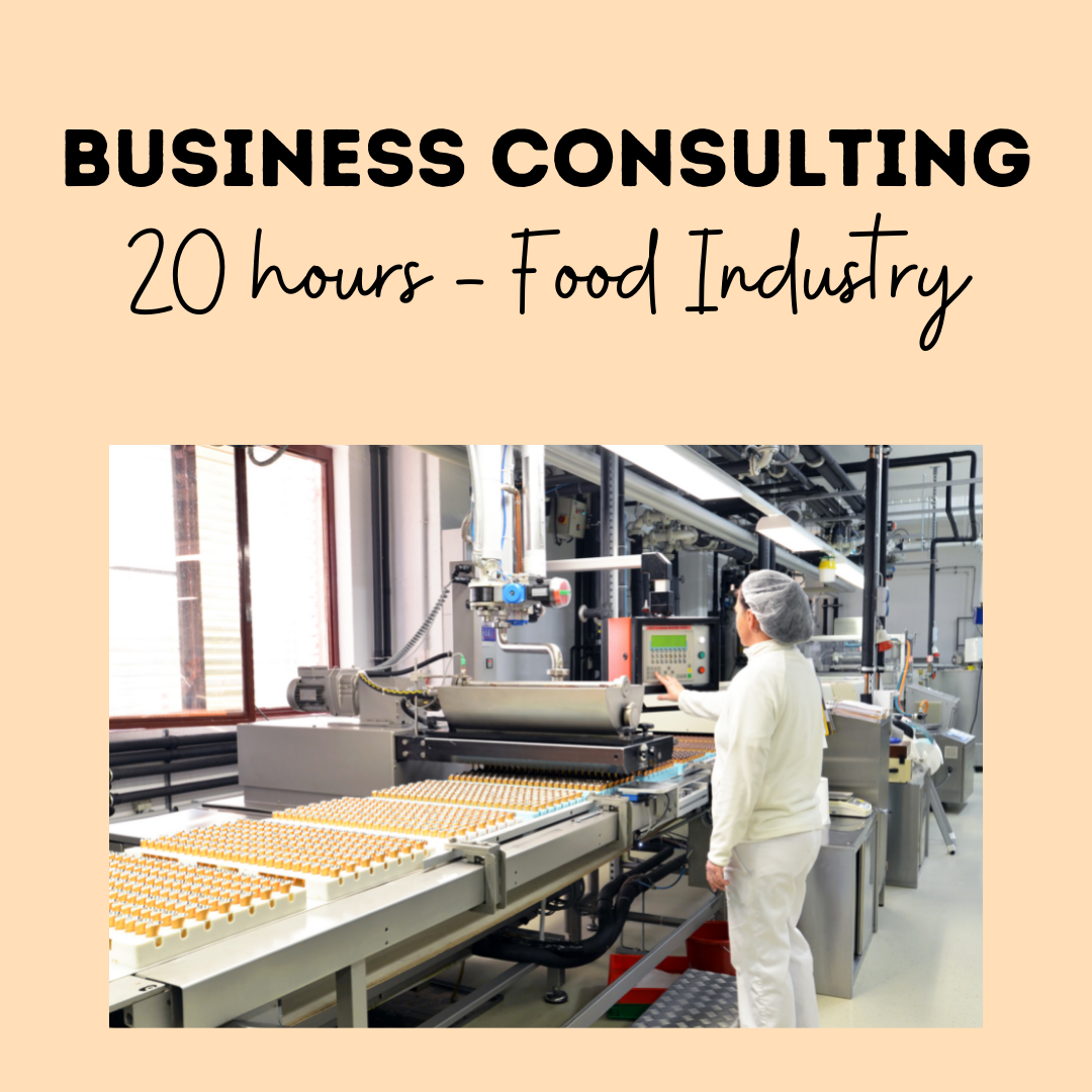 Business Consulting 20 Hours - Food Industry