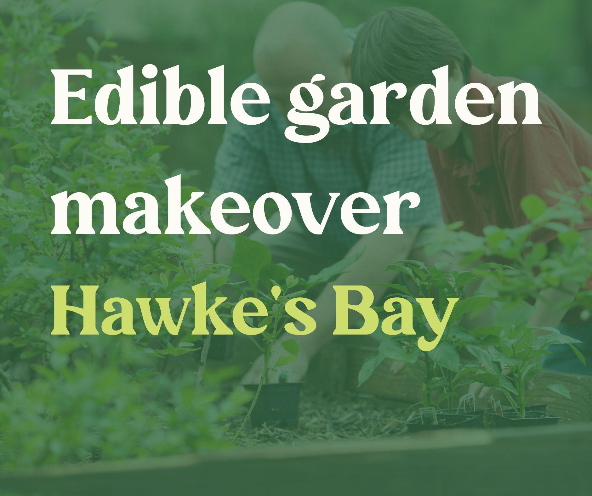 Edible Garden Makeover- Hawke's Bay