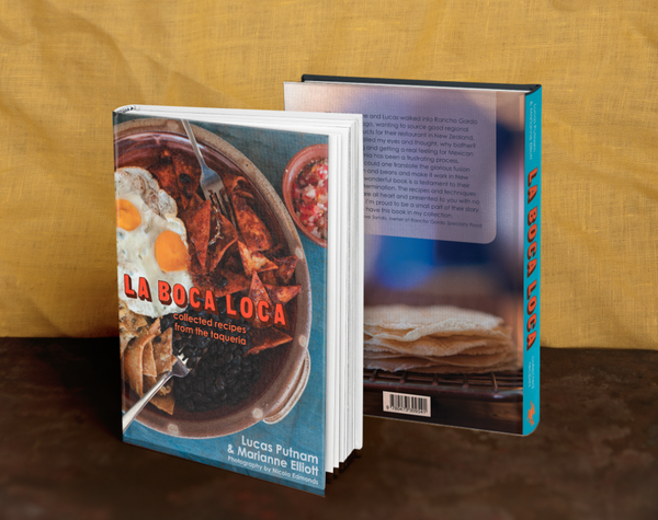 La Boca Loca cookbook