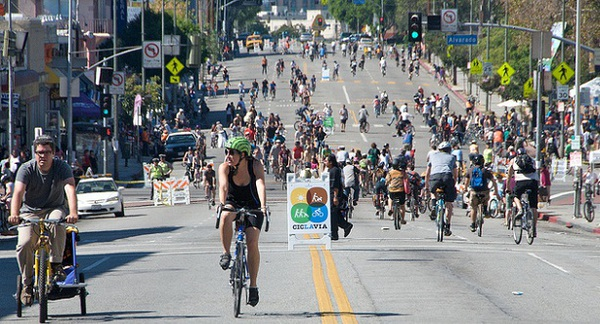 CicLAvia in Los Angeles