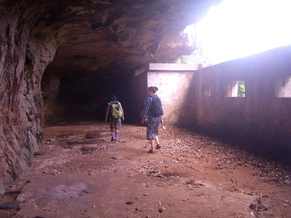 """The """"Ministry of Finance"""" Cave at Vieng Xai"""