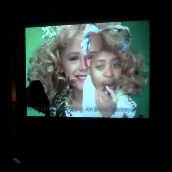 Remembering JonBenet Ramsey (2014) Bête Noire shown at GIVE ME UR ATTENTION at Fresh and Fruity gallery (2014)