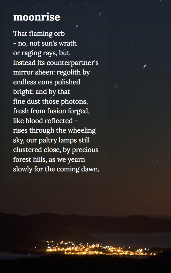 Moonrise Poetry