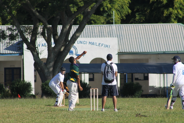 Cricket Game in Tonga