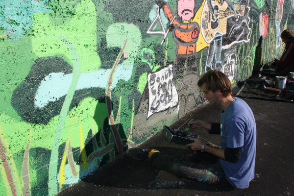 Guy Howard-Smith, Youth Week Mural 2014