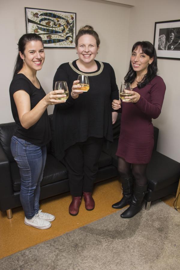 Maiara, Bronwyn and Carola