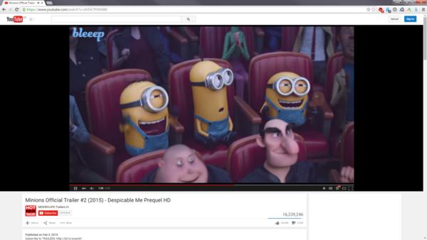 Bleep Screenshot of Plugin in action