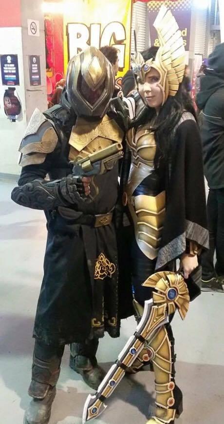 My Destiny Thai Warlock with Kamui Cosplay