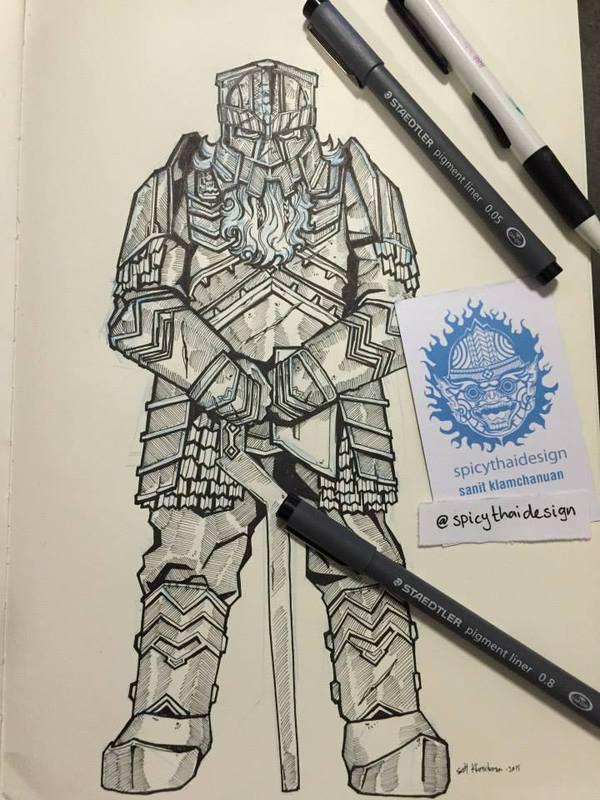 Erebor drawing