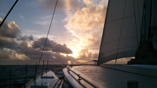 On our way to Vanuatu last year