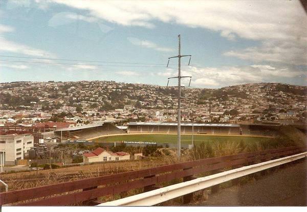 Carisbrook Stadium in the 70s